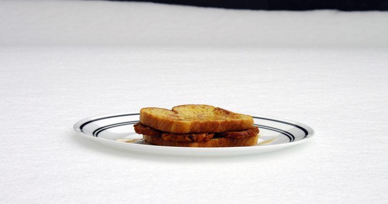 Potato Pancakes on French toast