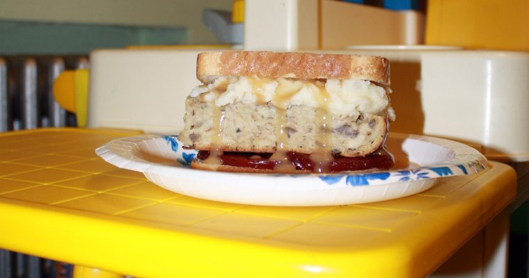 Thanksgiving Leftover Sandwich Part 2