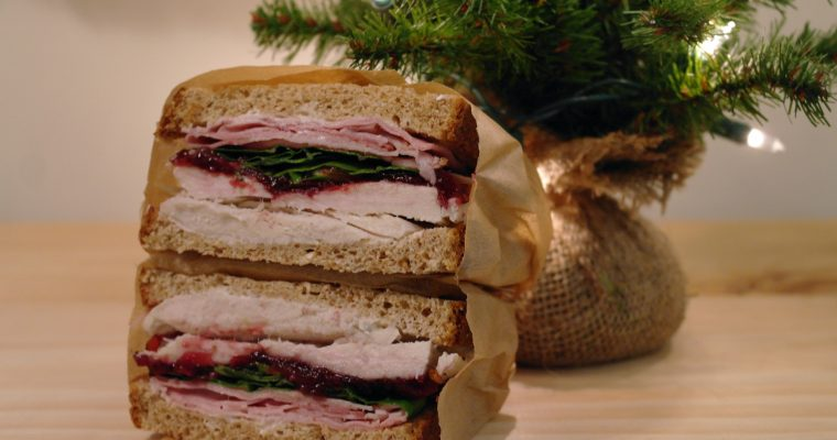 Ham and Turkey on whole wheat