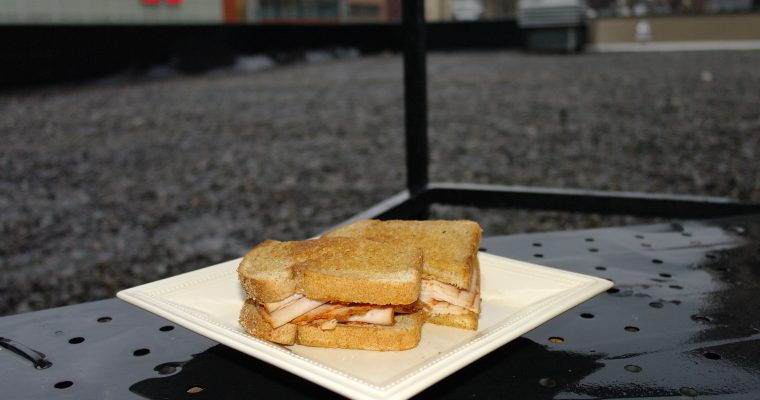 Sun Dired Tomato Turkey on grilled wheat