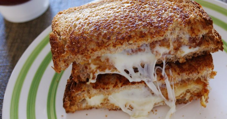 Grilled Chicken and Mozzarella on wheat