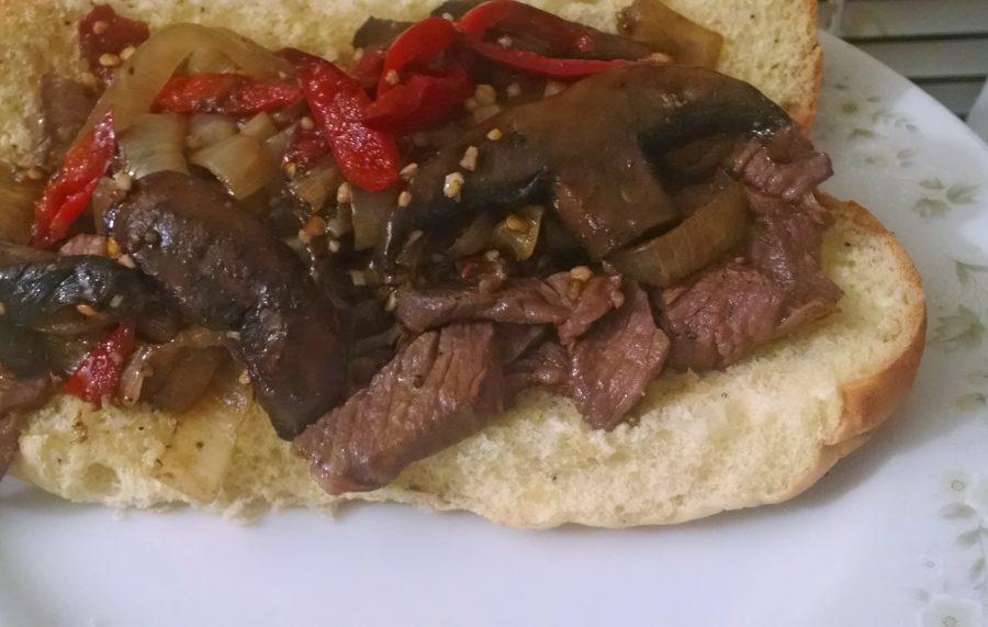 Italian-style Hot Beef sandwich