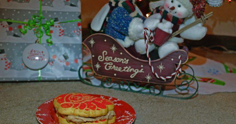 Cinnamon Sugar Spread on cookies