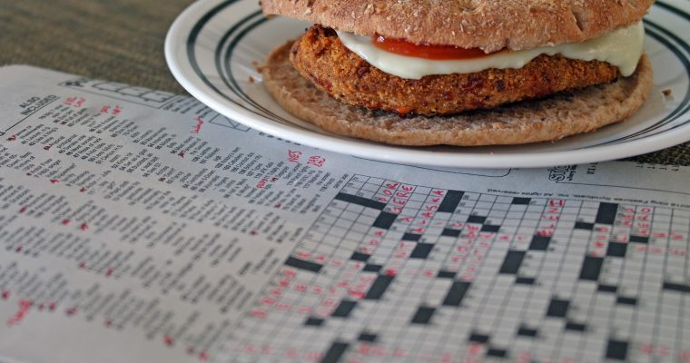Chicken Cutlet on bread thin