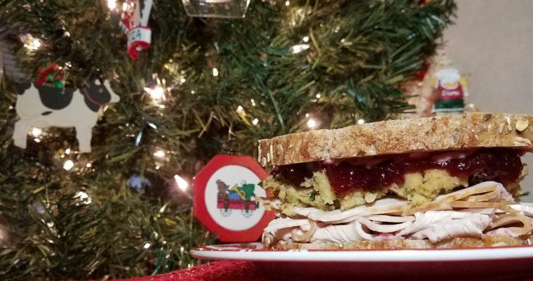 Christmas Sandwich on nine grain