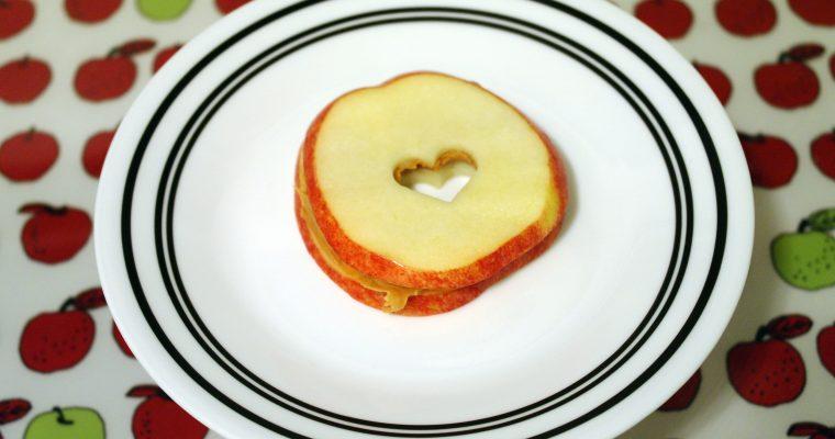 Peanut Butter on apple