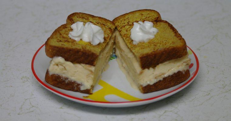 Ice Cream on French Toast