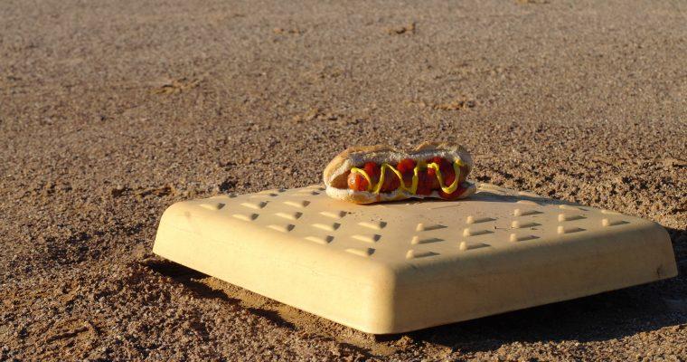 Hot Dog on wheat bun