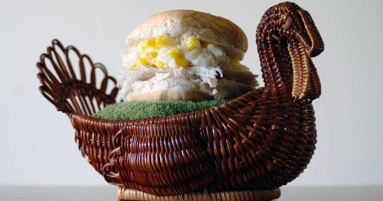 Thanksgiving Leftover Sandwich Part 1