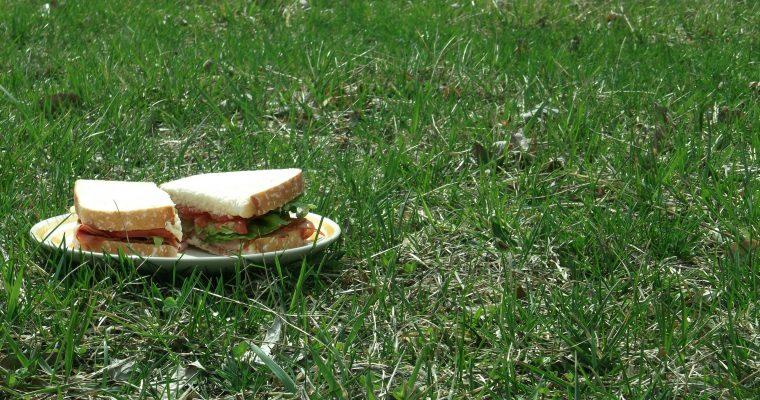 Hot Italian Ham on sourdough bread