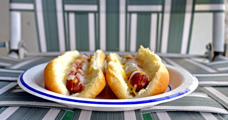 Cheese Dogs on buns