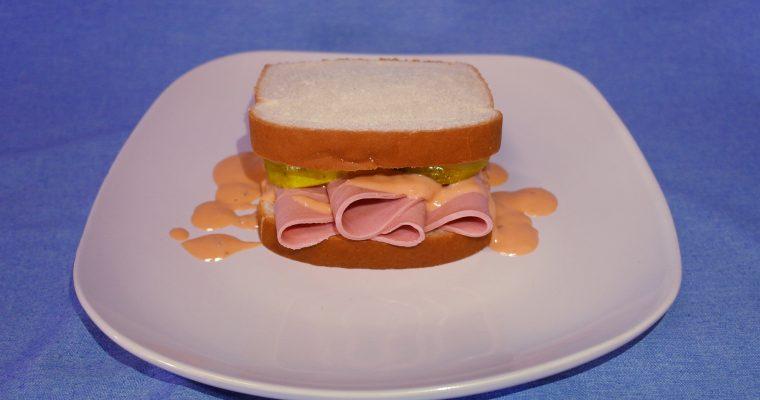 Donald Trump sandwich
