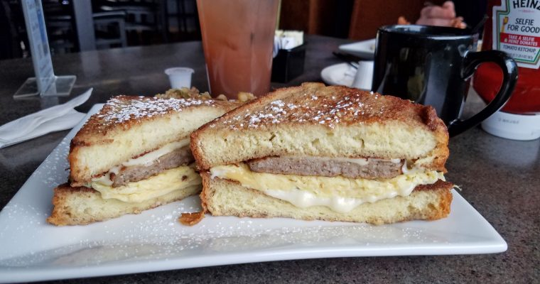 The RG Breakfast Sandwich