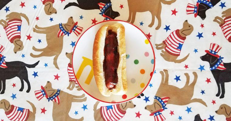 BBQ Turkey Dog on bun