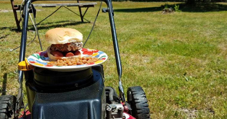 Burger-dog on bun