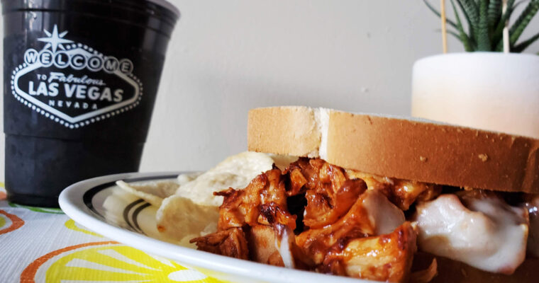 Barbecue Chicken on white